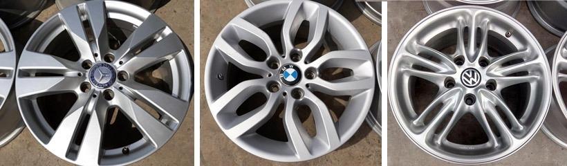 Mercedes, VW, Audi, BMW б/у диски для стиляг