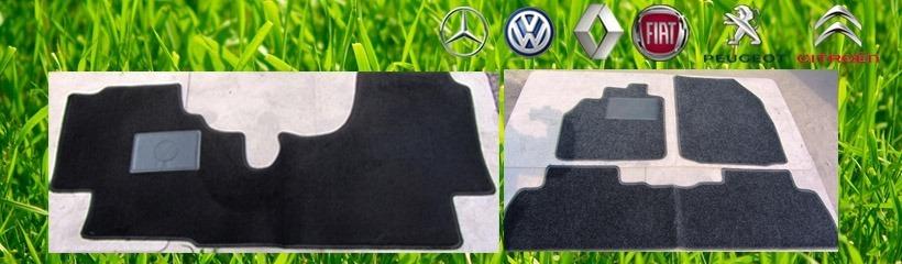 Коврики к бусу VW, Mercedes, Renault и др.