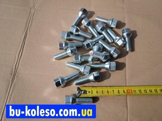 Болт колесный М12х1,5х32 конус ключ 17