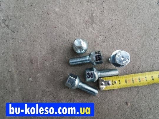 Болт колесный М12х1,5х30 сфера ключ17
