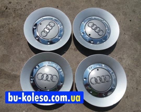 Колпачки дисков Audi заглушки оригинальные