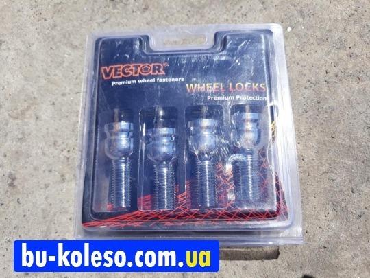 Болт колесный с секретом 14х1.5х28 сфера VECTOR