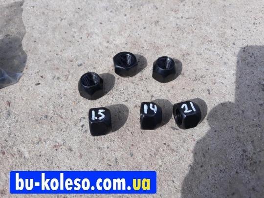 Гайка колесная М14х1.5х17 ключ 21