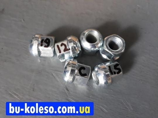 Гайка колесная М12х1.5х23 ключ 19 сфера