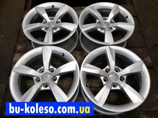 Оригинальные диски Audi A6 C7 R16 5x112 A4 Vw Skoda