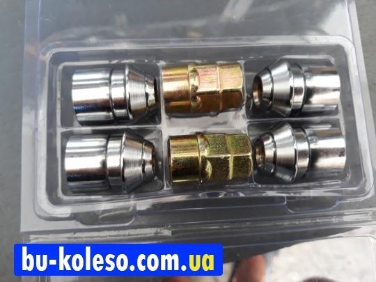 Гайки секретные 12х1.5х34 конус Ford Carbonado Premium