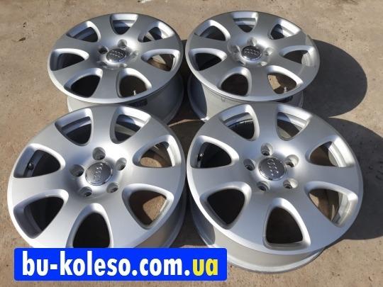 Оригинальные кованые диски AUDI Q7 R18 5x130 ET53 7.5J DIA71,6