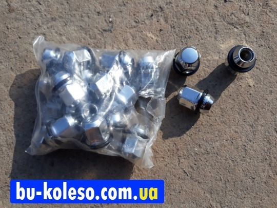 Гайка закрытая М12х1.5х35 Kia Hyundai ключ 21