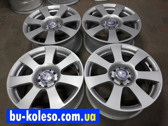 Оригинальные диски Мерседес 221 R17 5x112 W220 W140 W212 Vito