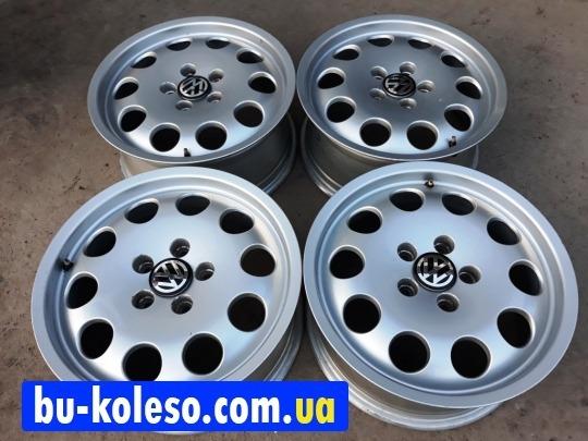 Оригинальные диски Audi VW R16 5x112 Skoda