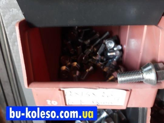 Болт колесный М12х1,5х25 конус ключ 17