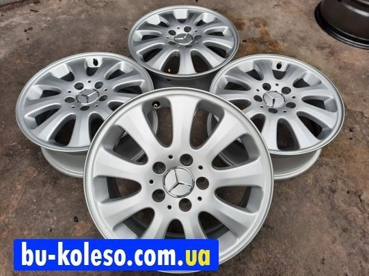 Диски Mercedes A169 A190 W414 A170 Vaneo R16 5x112