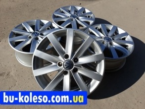 Оригинальные диски R17 5x112 Vw Golf 6 Porto Jetta Touran 5KO601025F