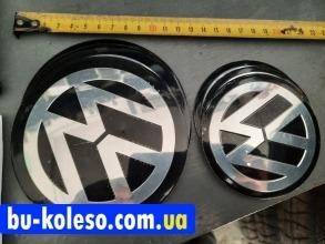 Наклейки дисков металлизированные Volkswagen 120 мм