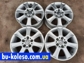 Диски VW Caddy T4 Touran Scoda R15 5x112