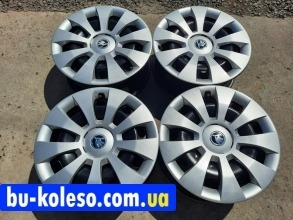 Колпаки Skoda R16 оригинал 3V0601147