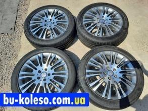 Оригинальные диски Mercedes Viano W639 R18 5x112 шины 245/45ZR18