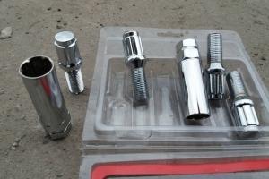 Секретные болты 14х1.5 locks bolts Wheel