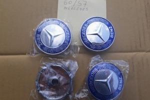 Колпачки дисков Mercedes 60/57 мм