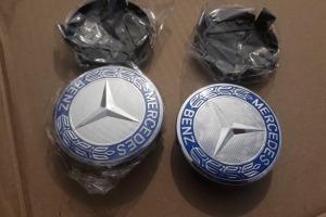 Колпачки дисков Mercedes (заглушки)