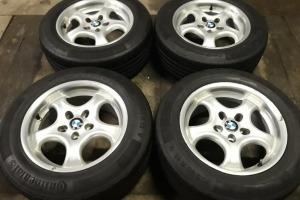 Диски R15 5x120 BMW E35 E46 Шины 205/60R15 зима