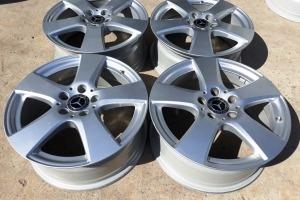Оригинальные диски Mercedes W205 R17 5x112 Viano Vito 447 639