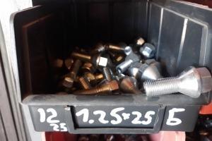 Болты крепления дисков М12х1,25х25 конус