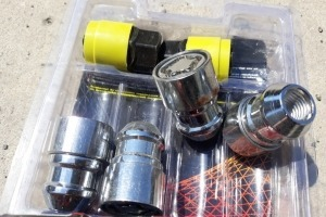 Гайки колесные с секретки 12х1.5 Vector Preium конус