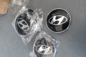 Колпачки дисков Hyundai 60/56 мм заглушки Хендай