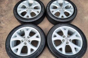 Диски Mazda R17 5x114.3 Шины 205/50R17 лето