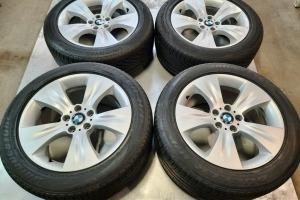 Диски BMW X5 Е70 R19 5x120 Шины летние разноширокие