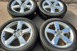 Оригинальные диски Audi Q5 SQ5 R19 5x112 Шины