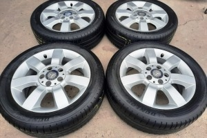 Диски R16 5x112 Mercedes A-Klass  шины 195/55R16