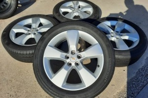 Диски R18 5x105 Chevrolet Trax Opel Mokka  шины 215/55R18