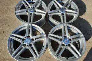 Диски R16 5x112 Mercedes W212 W220 W140 Vito шины 225/55R16