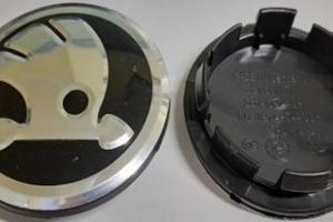Колпачки дисков Skoda 3B7601171 Заглушки Шкода 65/58 мм