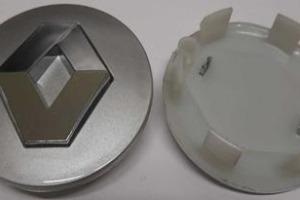 Колпачки дисков Renault 57/50 мм заглушки дисков Рено