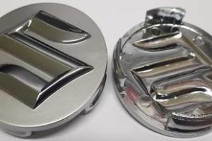 Колпачки дисков Suzuki 54/52 мм заглушки дисков Сузуки