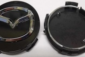 Колпачки дисков Mazda 55/55 мм заглушки дисков 167-CAP