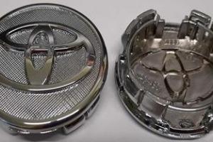 Колпачки дисков Toyota 57/52 мм заглушки дисков